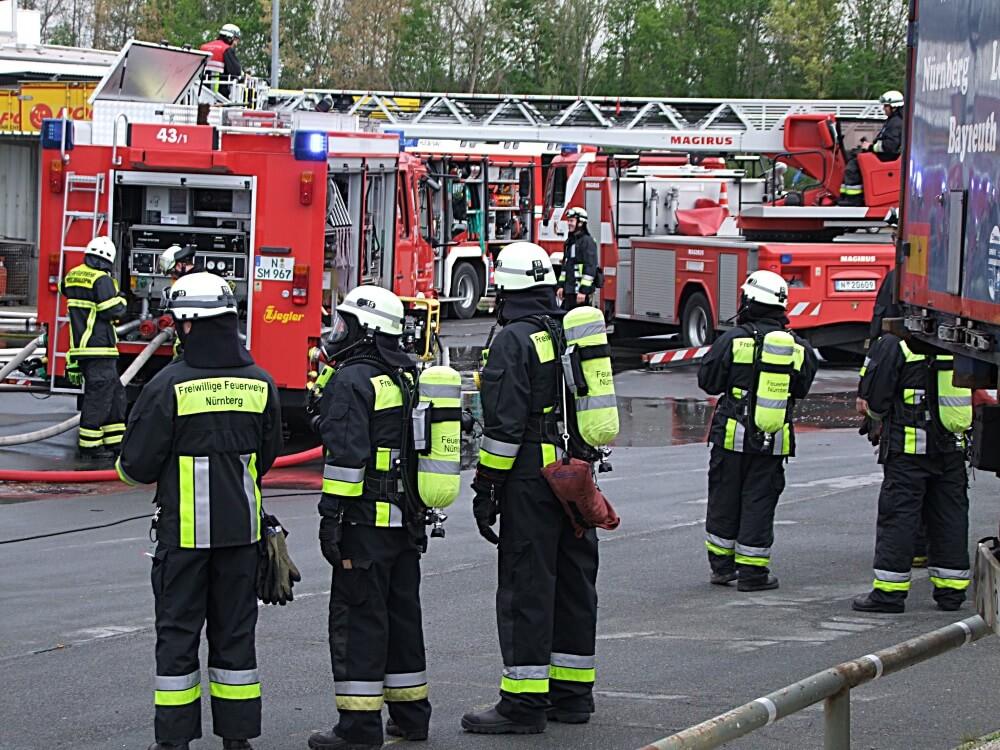 Einsatz Feuerwehr Nürnberg