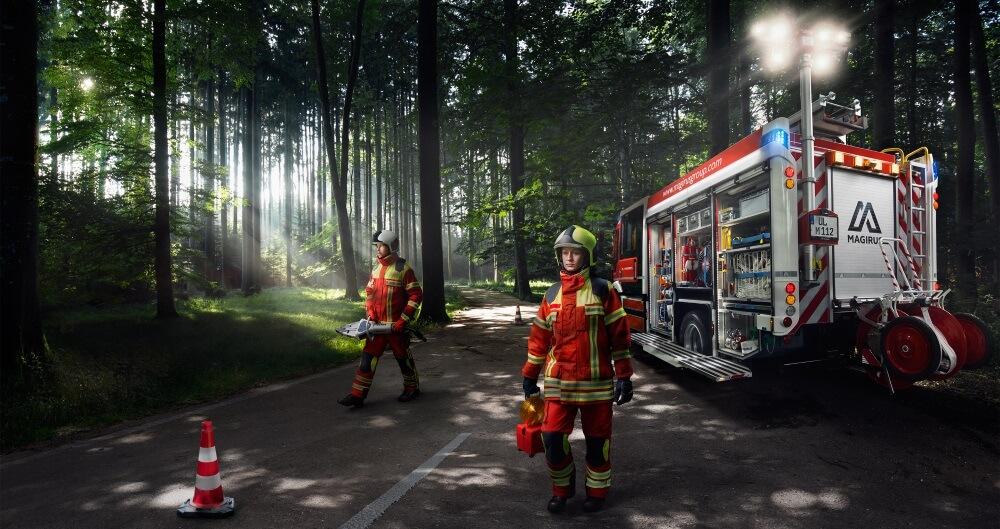 Mit der dritten Generation der EC-Line stellt Magirus moderne, flexibel gestaltbare Fahrzeuge für die Feuerwehr vor.