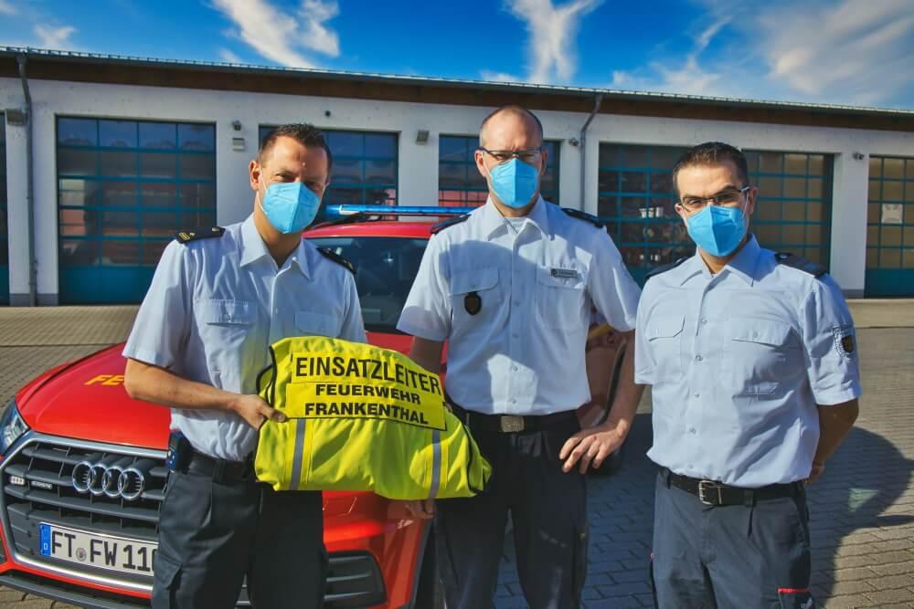 Wechsel in der Führung der Feuerwehr Frankenthal. Der amtierende Wehrleiter legt sein Amt zum 31. März 2021 nieder.