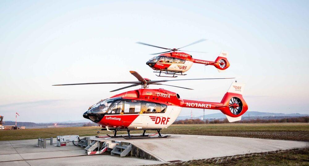 Seit 8. März 2021 hat die DRF Luftrettung nun einen Helikopter mit Fünfblattrotor.