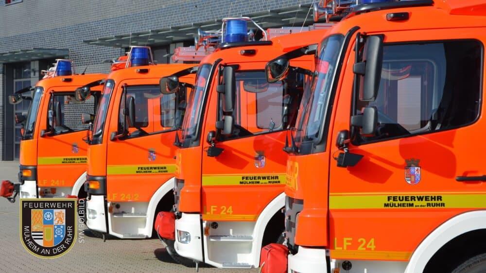 Ein defektes Rohr im Mülhauser Impfzentrum löste einen Einsatz der Feuerwehr Mülheim an der Ruhr aus.