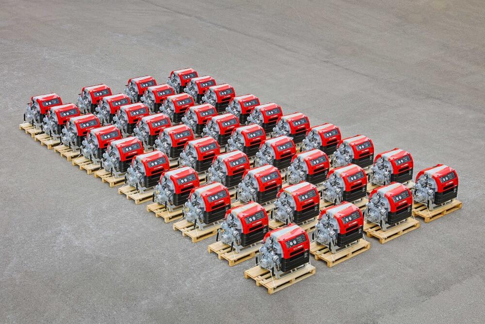 Rund 310 neue Tragkraftspritzen UP 4 liefert die Albert Ziegler GmbH bis März 2021 an das Bundesamt für Bevölkerungsschutz und Katastrophenhilfe.