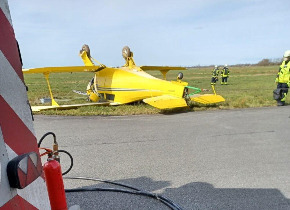 Ein Flugzeugabsturz ereignete sich am Nachmittag des 15. April 2021 auf dem Flugplatz Leer-Papenburg.
