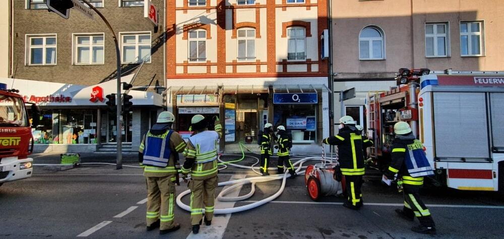 Ein Brand in einem Keller löste eine tierische Rettungsaktion in Recklinghausen aus.