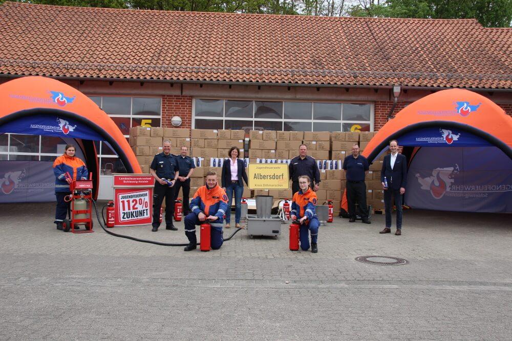 Schleswig-Holstein macht seine Jugendfeuerwehr fit für den Neustart nach Corona.