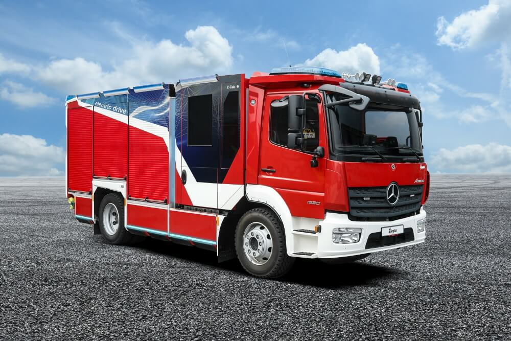 Alternative Antriebe werden in Zeiten des Klimawandels immer wichtiger. Ziegler erforscht nun den Einsatz von Wasserstoff in Feuerwehrfahrzeugen.