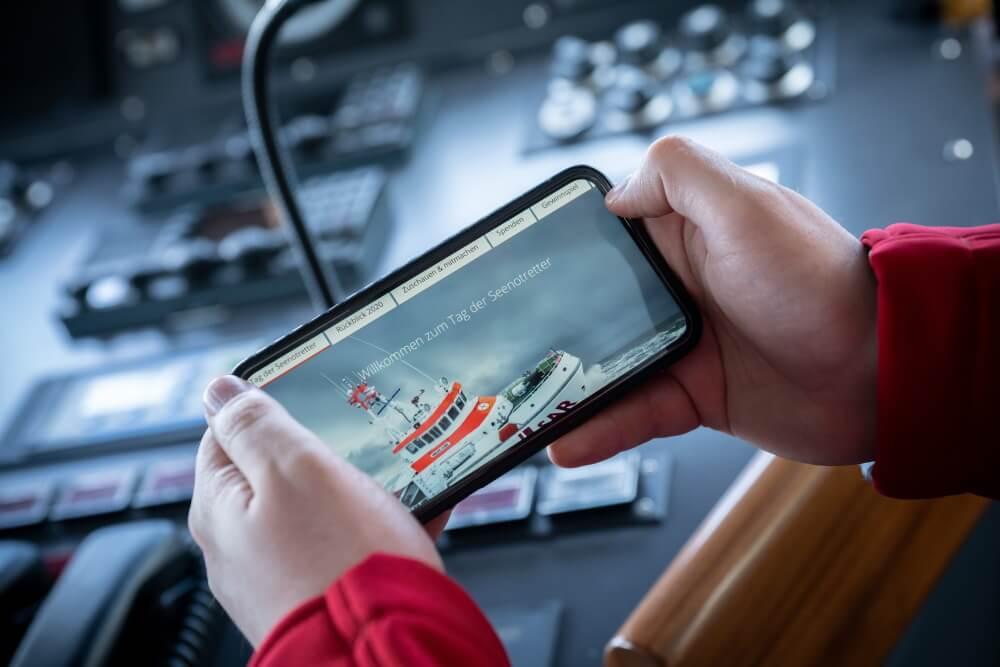 Die Seenotretter führen ihren Tag der Seenotretter 2021 erneut digital durch.