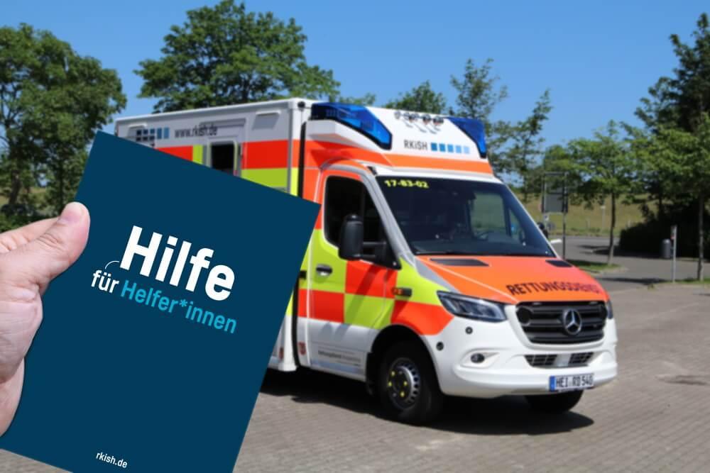 Für Ersthelfer hat die Rettungsdienst-Kooperation Schleswig-Holstein nun eine Hilfe erstellt, wie sie Schäden, die während der Ersten Hilfe entstanden sind, ausgeglichen bekommen können.